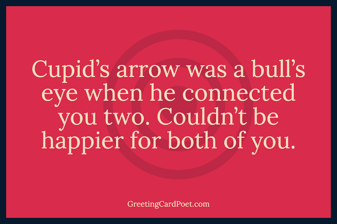 Funny wishes - cupid image