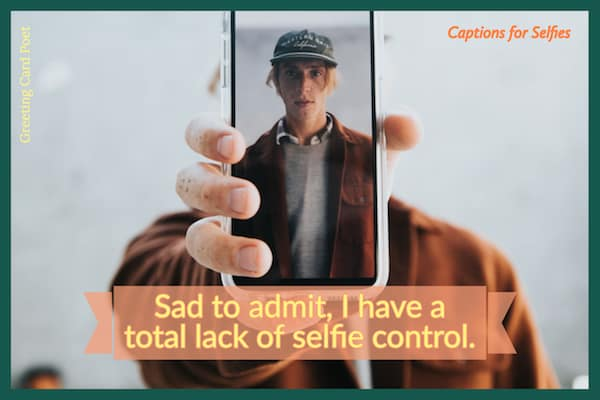 Selfie control image