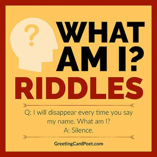 What Am I Riddles image