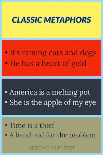 127 Metaphor Examples To Bring Out The Poet in You