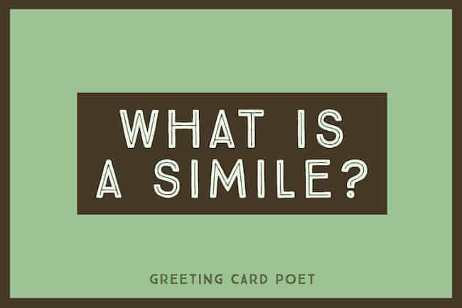 What is a simile image
