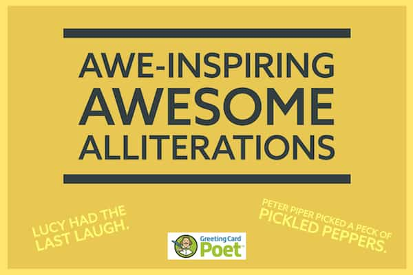 Awesome alliterations image