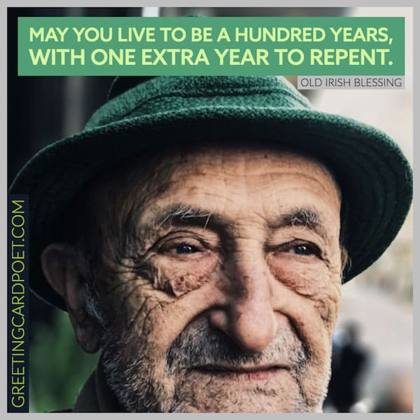 May you live to be one hundred years blessing image
