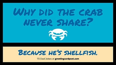 the shellfish pun image
