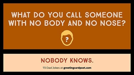 no body knows riddle image