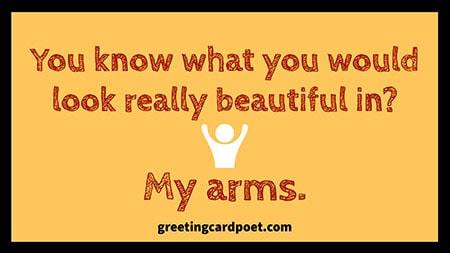 In my arms conversation starter image