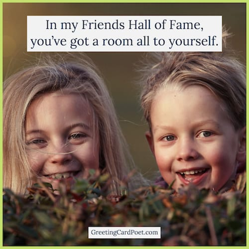Friends hall of fame image