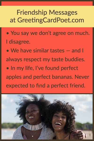 Messages for best friends image