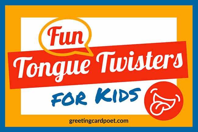 fun tongue twisters for kids image