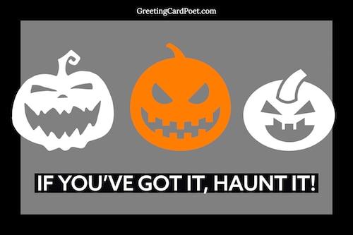 Halloween haunting image