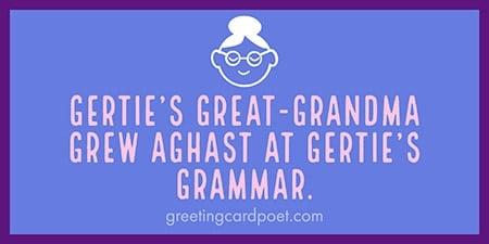 Gertie's Great Grandma image