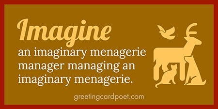 Imagine an imaginary menagerie image