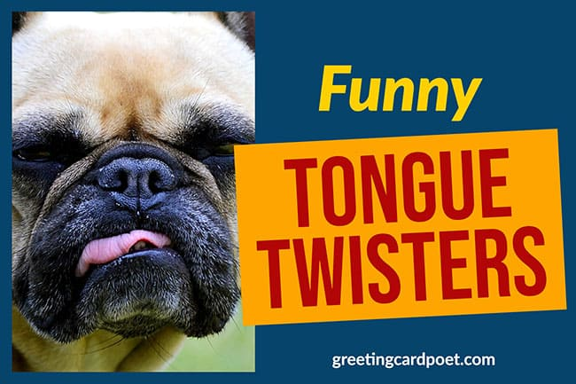 funny tongue twisters image