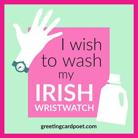 Irish wristwatch meme