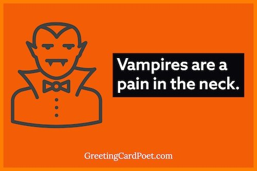vampires are a pain in the neck meme