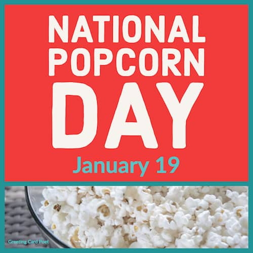 National Popcorn Day meme