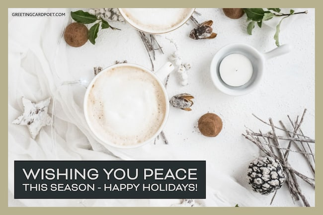 Best happy holidays messages image