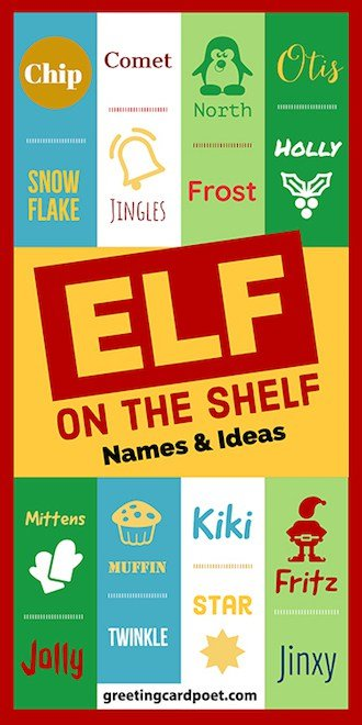 Names for Elf on the Shelf image