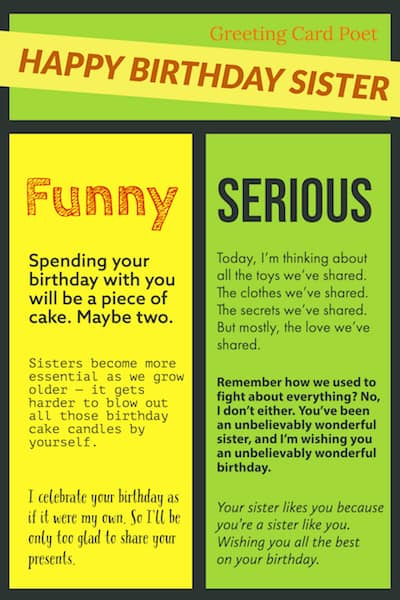 Sister Birthday Wishes meme