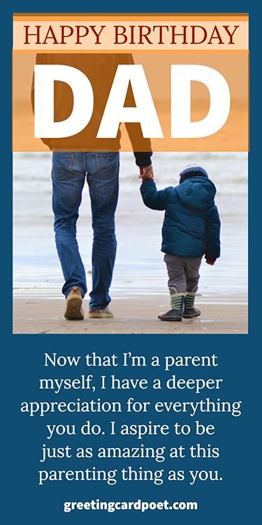 aspiring to be like dad image