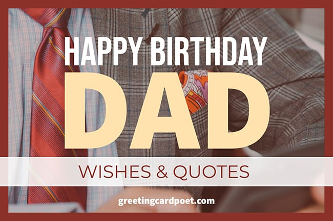 happy birthday dad wishes and quotes image