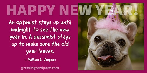 fun New Year's quotes image