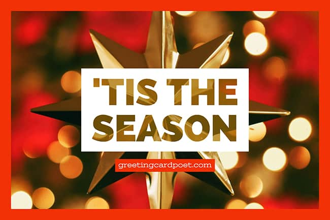 'tis the season image