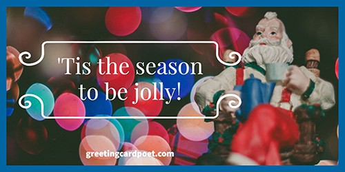 'tis the season to be jolly image