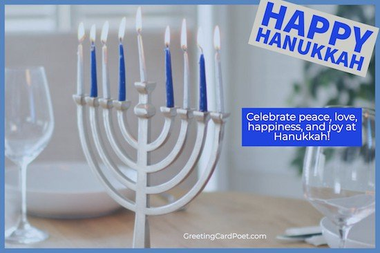 Hanukkah wishes and greeting image
