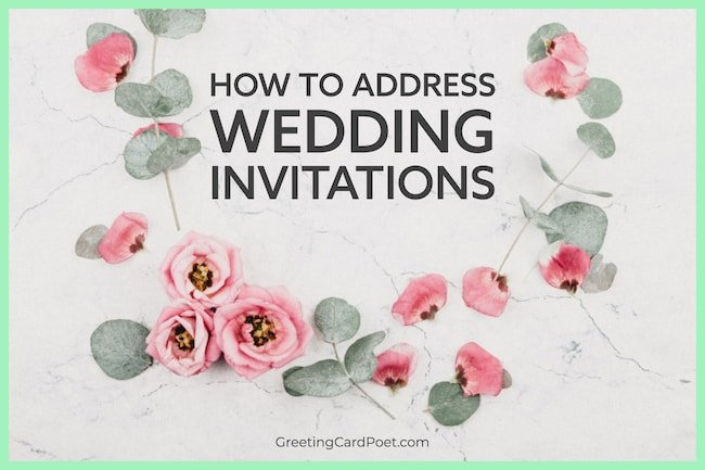 How to address Wedding Invitations image