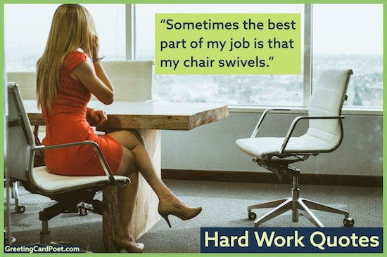 Funny quotations about work image