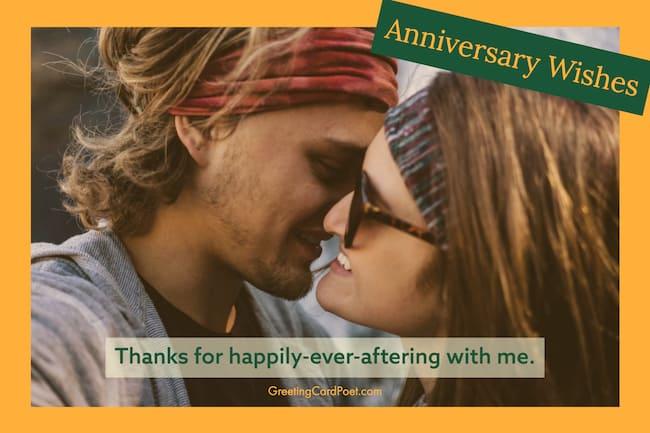 Happy anniversary love image