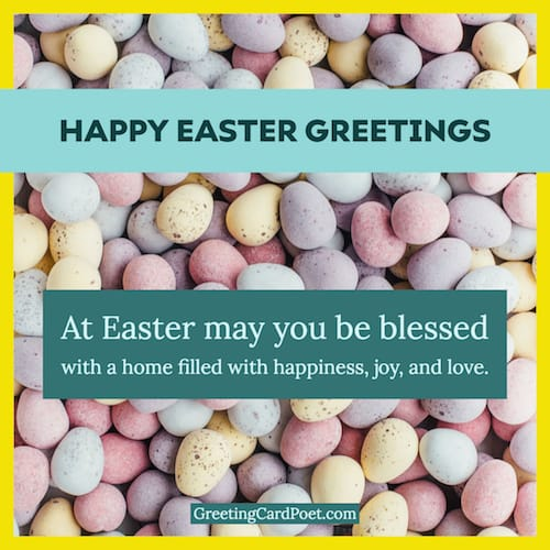 Happy Easter Greetings image