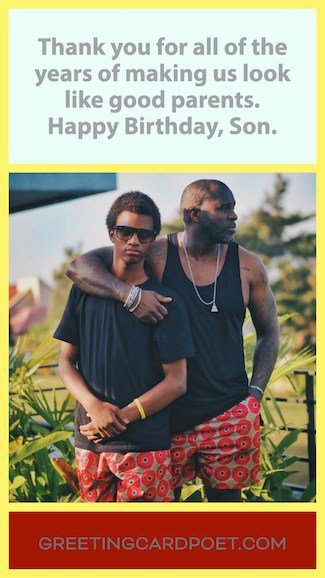 Happy birthday for son meme