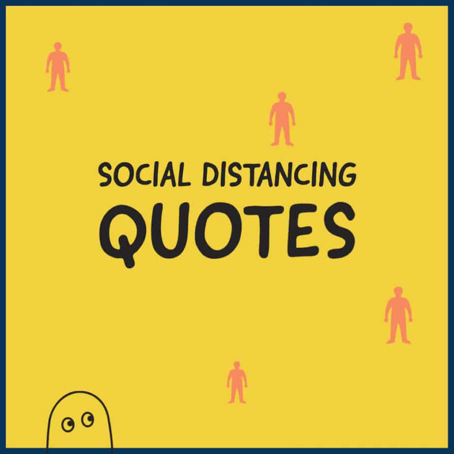 Social distancing quotations 1200 image