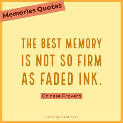 good memories quotes image