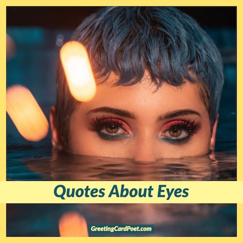 short quotes about eyes