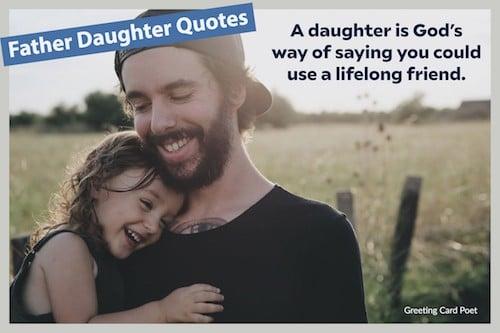 A daughter is a lifelong friend image