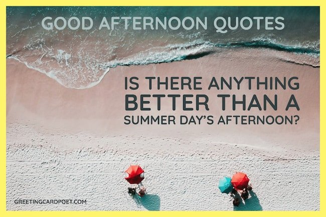 A summer day's afternoon image