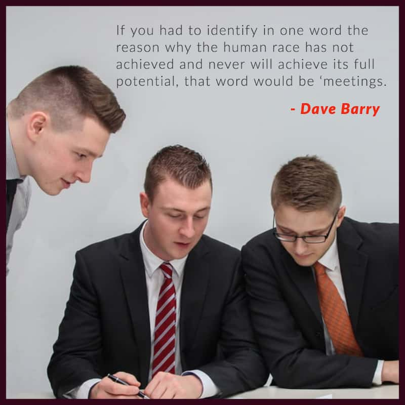 Dave Barry funny work quotes image