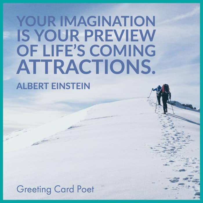 Einstein quote on imagination — inspirational quotes for work image