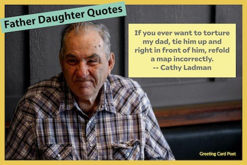 Funny quote about dad image