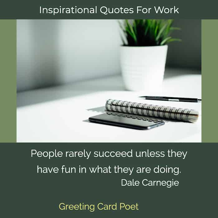 Good inspirational quotes for work image