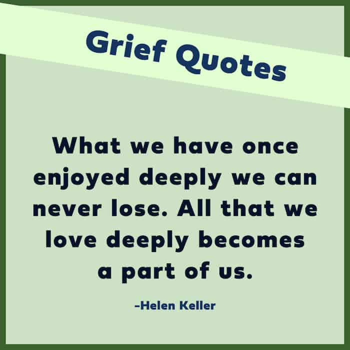 Good quotes about grief image