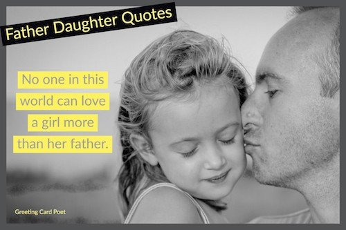 Inspirational quote about father image