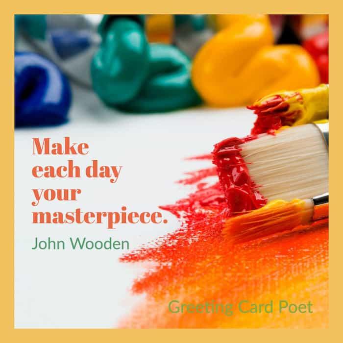 John Wooden Masterpiece quote image