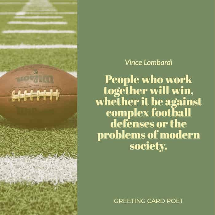 Lombardi quote on inspiration image