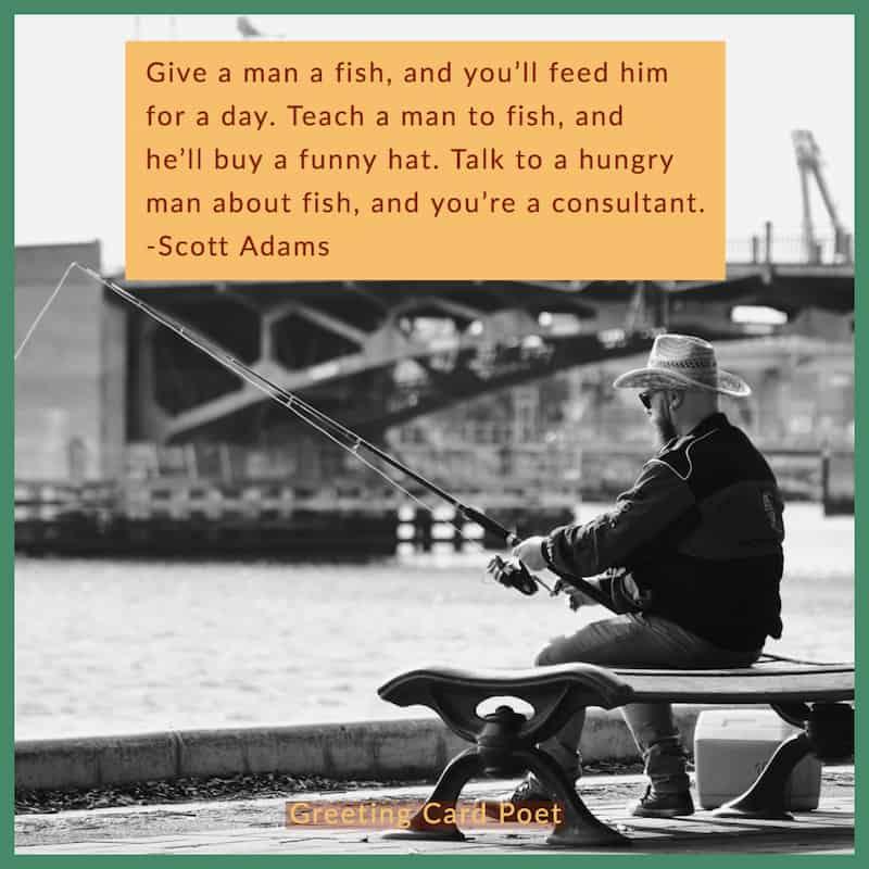 Scott Adams funny business quote image