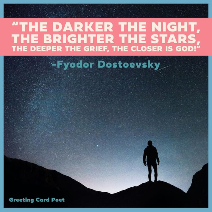 The darker the night quotation image