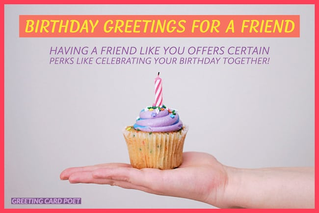 best birthday greetings for a friend image